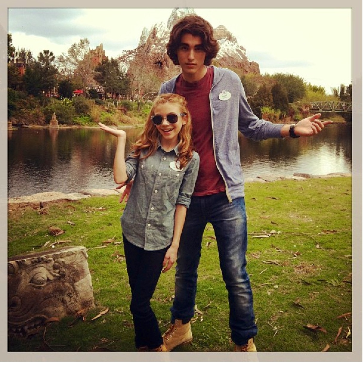 Blake Michael And G Hannelius Are Official Walt Disney World Cast    G Hannelius And Blake Michael