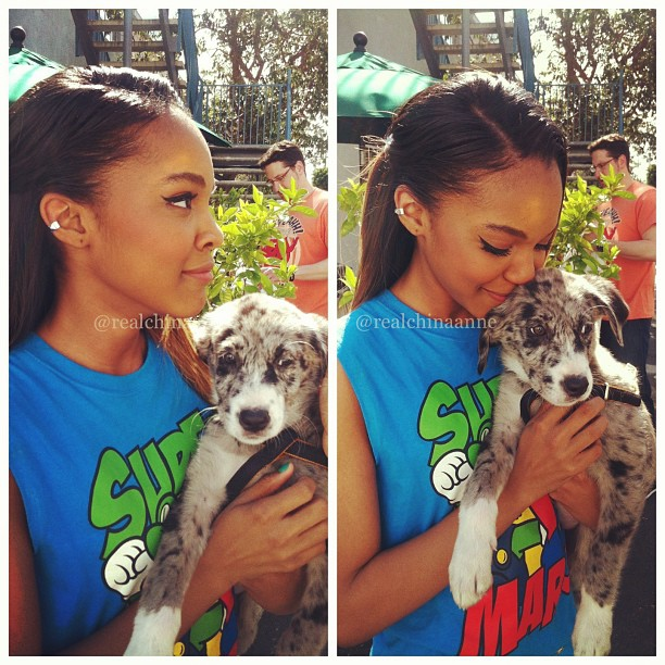 China Anne Mcclain Dog Name