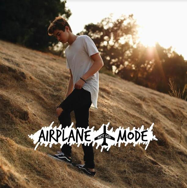"Media Confidential 2017 09 10: Matt Sato Releases New Single ""Airplane Mode"
